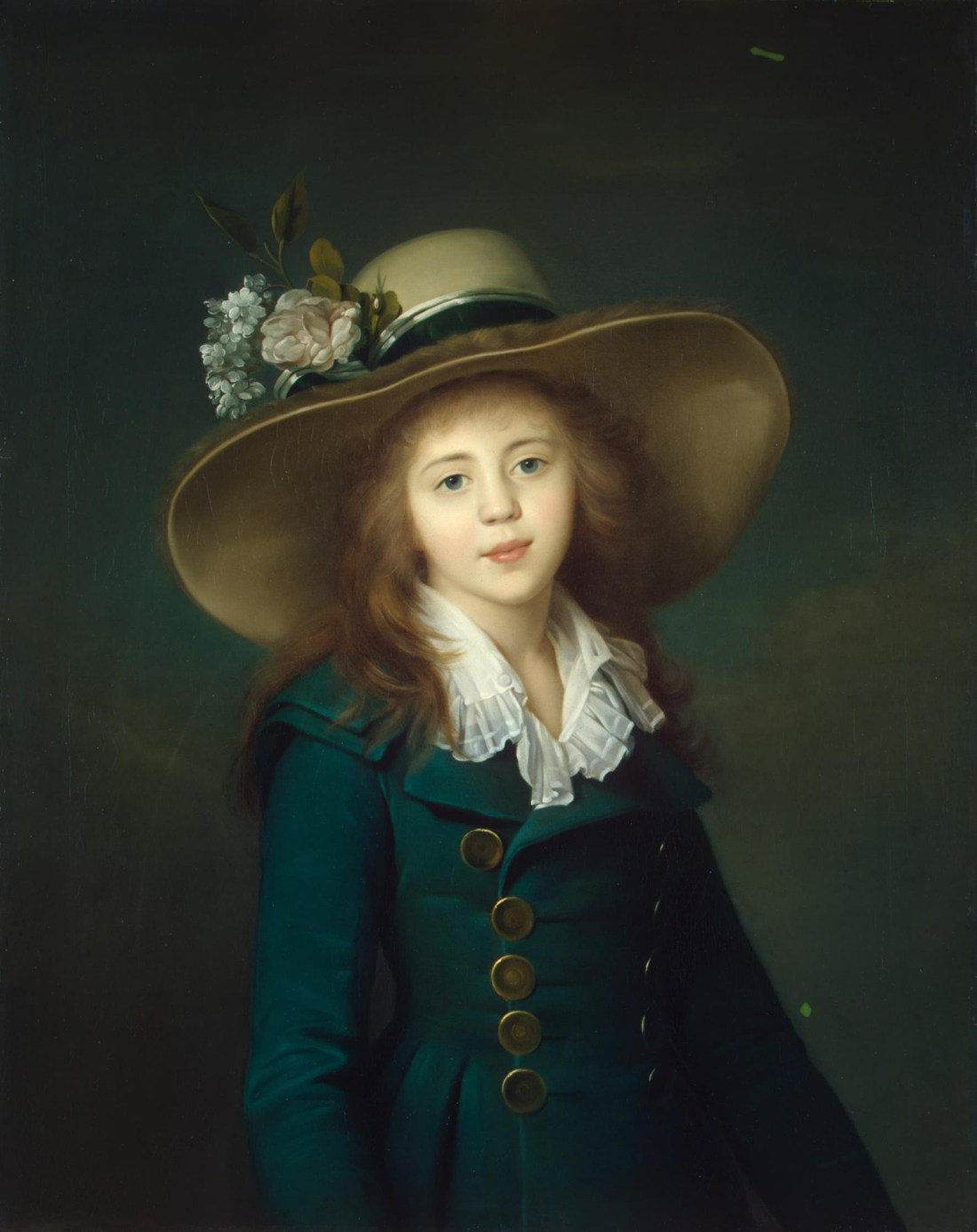 """Portrait of a Girl in a Hat."" 1781-82."