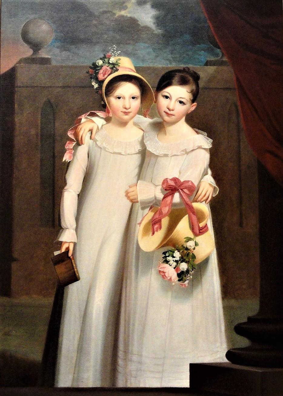 """The Ragan Sisters."" 1818."