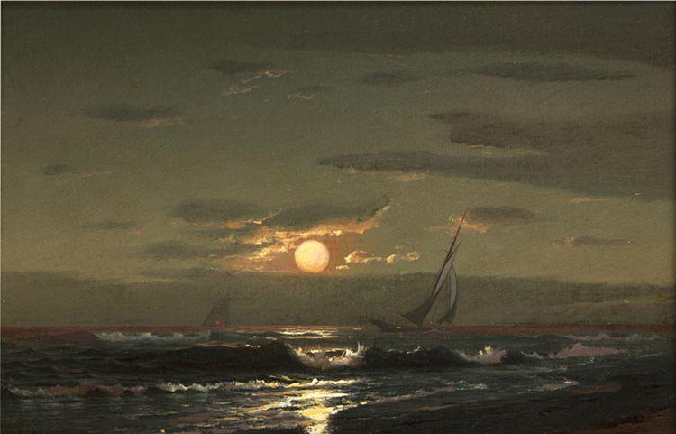 """""""Moon Light Sail."""" No date."""