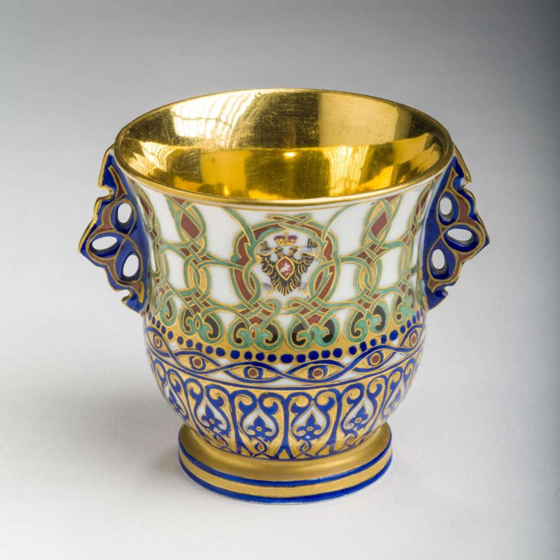 Ice cup from the service of Grand Duke Konstantin Nikolaevich