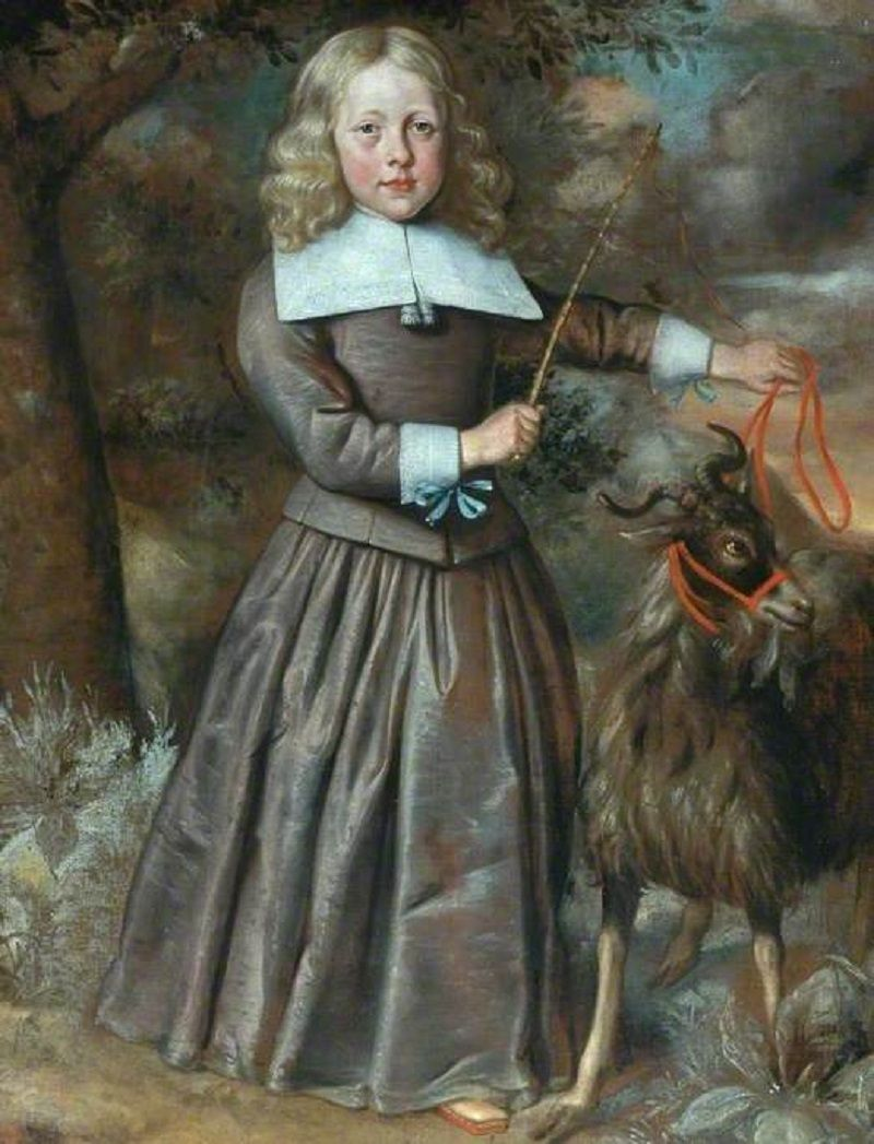 Portrait of a Boy with a Goat. 1640-1660.