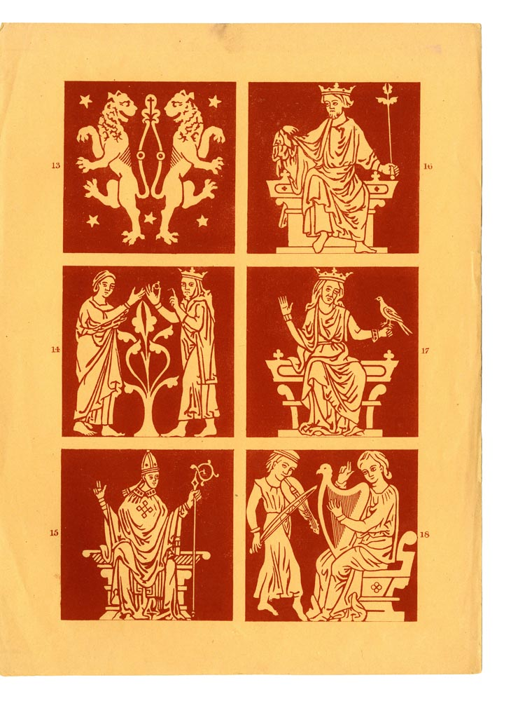 Designs 13-18. Page 13.