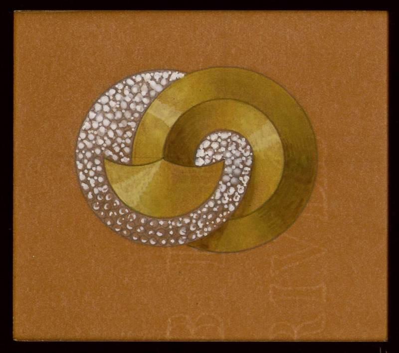 Design for a jewel. 1910-1937.