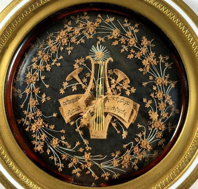 Micro-sculpture. 18th c.