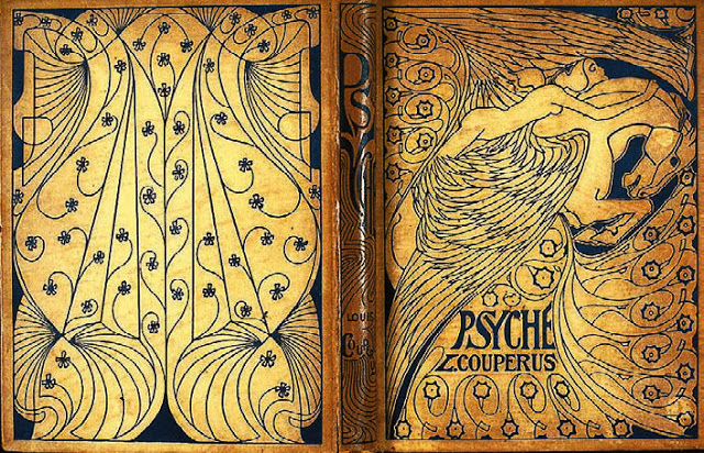 """Back and front covers of L. Couperus """"Psyche."""""""