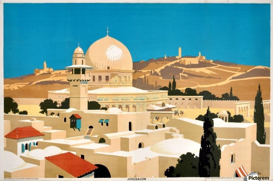 """""""Jerusalem."""" 1920's-1933."""