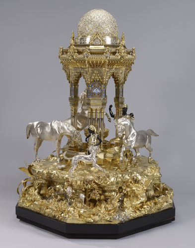 """""""The Alhambra"""" table fountain. 1852-53."""