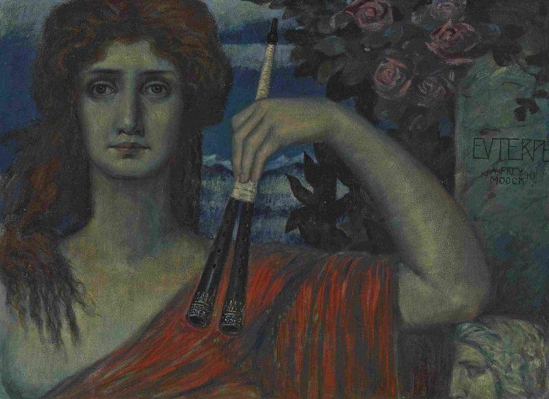 """""""Euterpe."""" 1910."""
