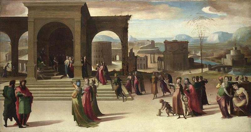 """""""The story of Papirius."""" ca. 1520-30."""