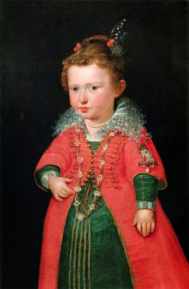 Portrait of Eleonore von Gonzaga. 1600-1601. Oil on canvas.