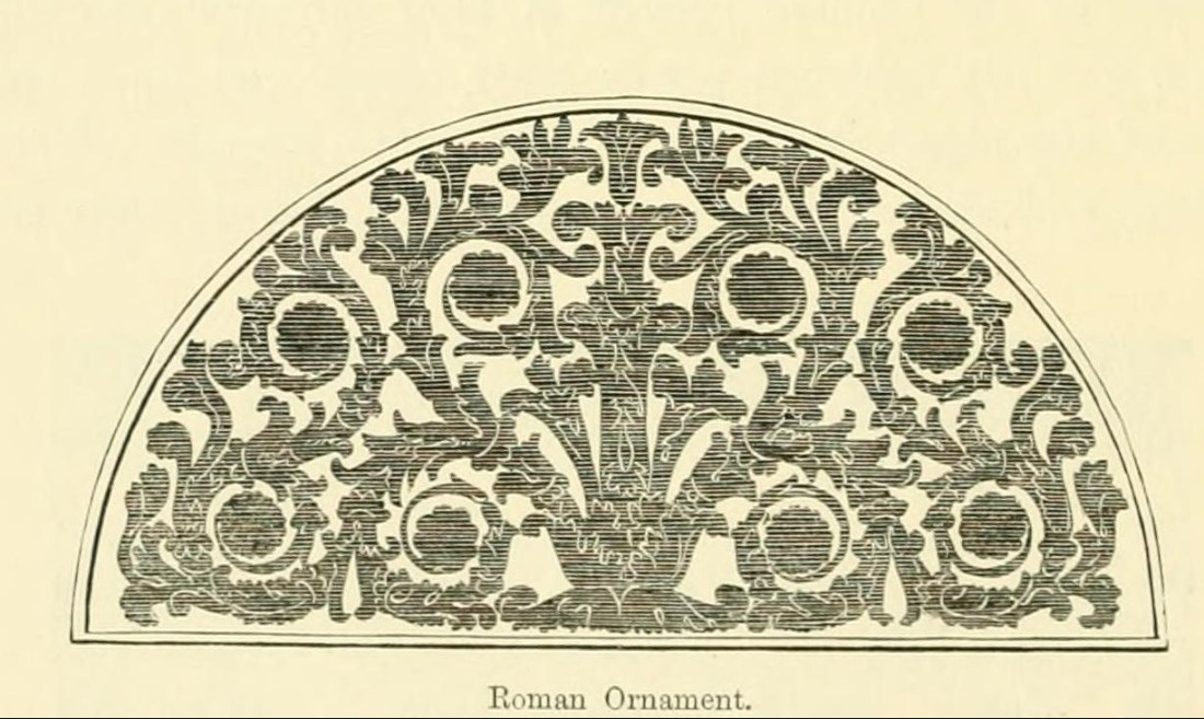 """Roman Ornament."" Page 6 (detail)."