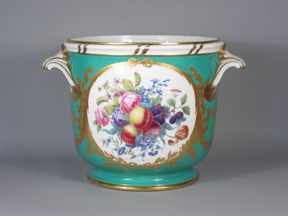 Bottle cooler from the service of the Emperor Joseph II. 1776.