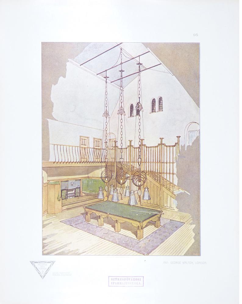"""Inv. George Walton, London."" Tafel 95."
