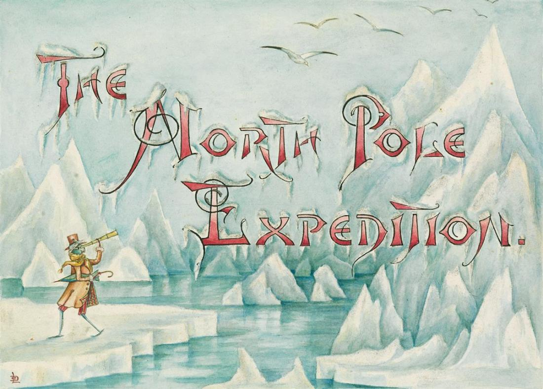 """""""The North Pole Expedition."""" ca. 1880."""