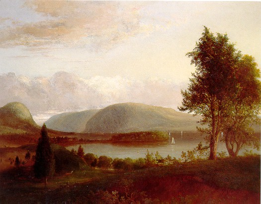 """Denning's Point, Hudson River."" 1839."