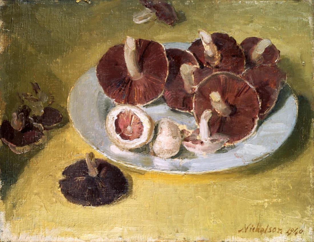 """""""Mushrooms."""" 1940."""