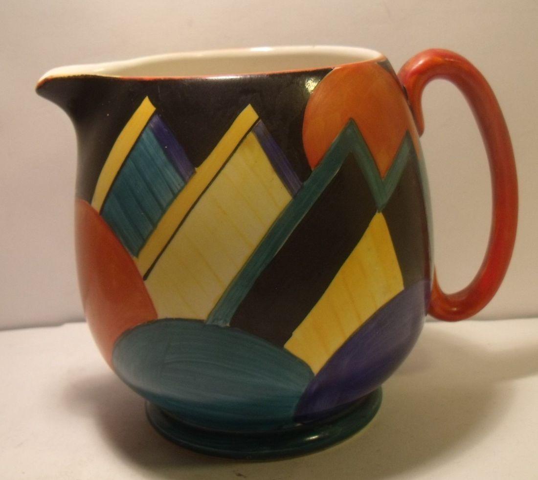 Cubist design. 1920s.