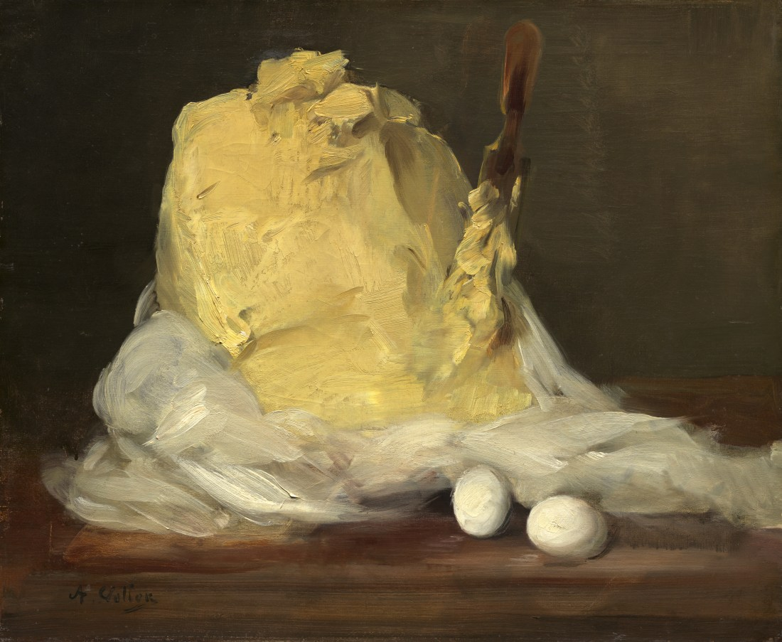 """""""Mound of Butter."""" 1875-1885. Oil on canvas."""