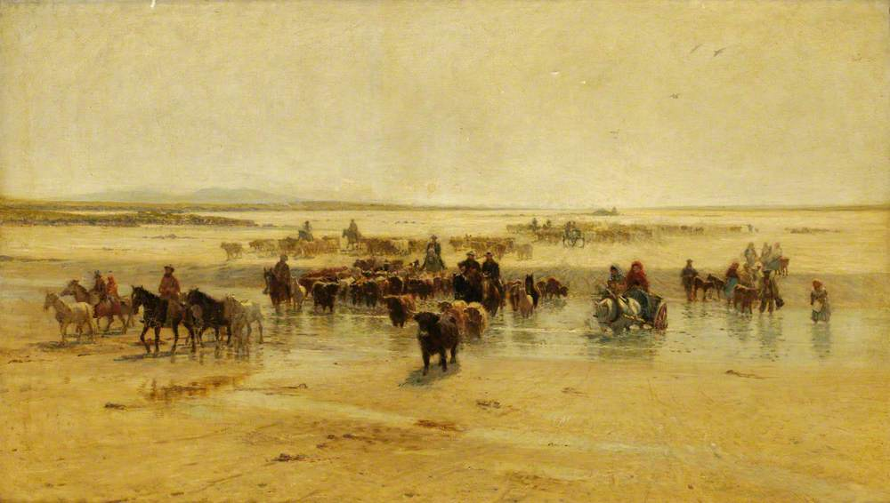 """""""The North Ford, Uist, Outer Hebrides."""" 1894."""