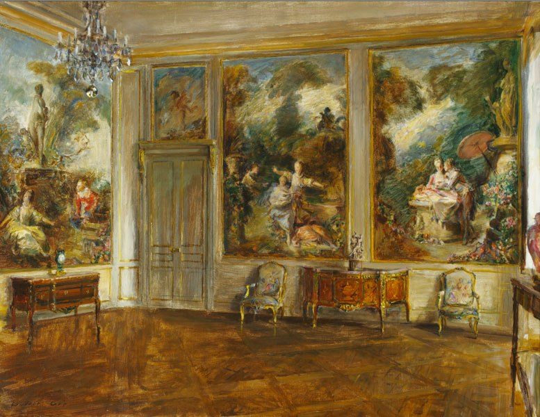 """The Fragonard Room at the Frick Collection."" 1926."