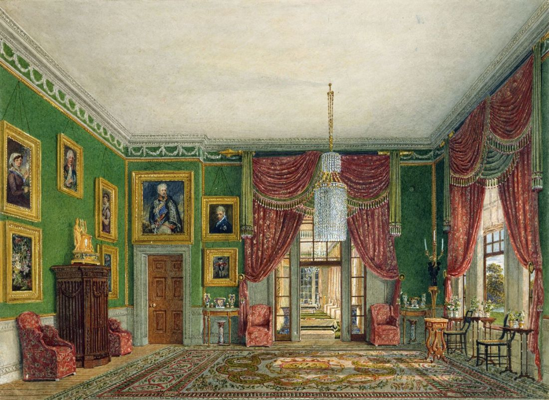 Frogmore_House,_Green_Pavilion,_by_Charles_Wild,_1817_-_royal_coll_922121_257043_ORI_0_0