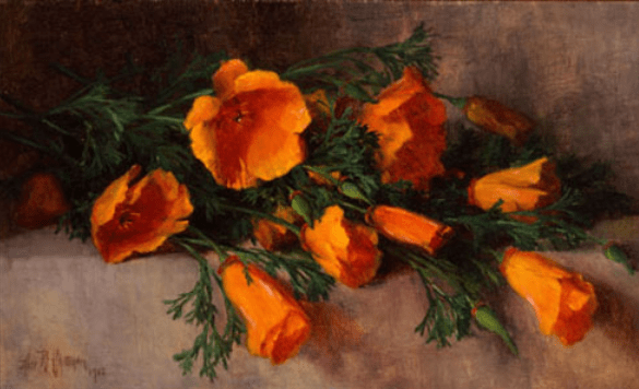 """""""Still Life with California Poppies.""""1902."""