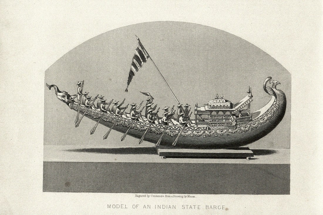 """""""Model of an Indian State Barge"""