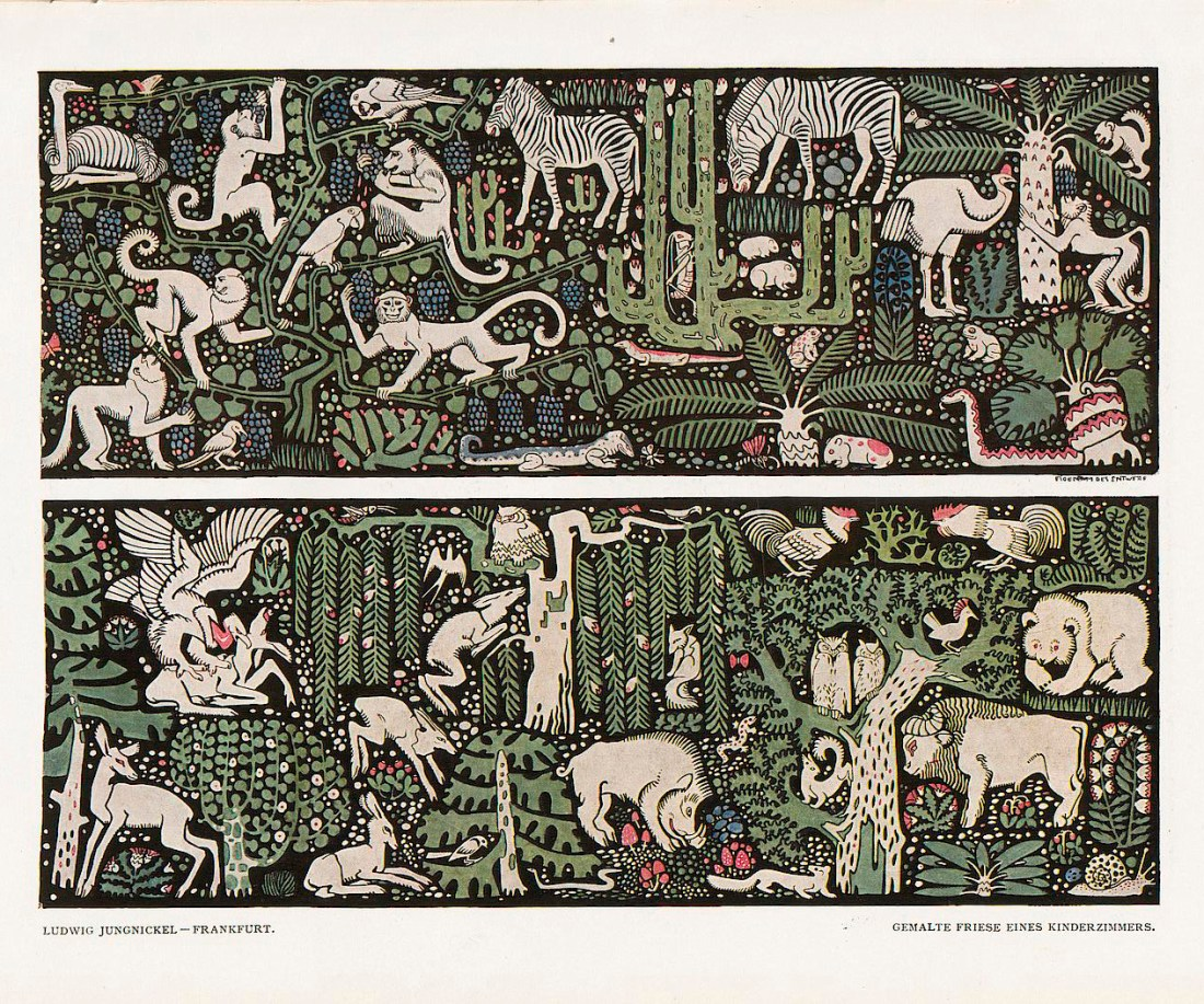 """""""Wall Frieze for a Children's room,"""""""