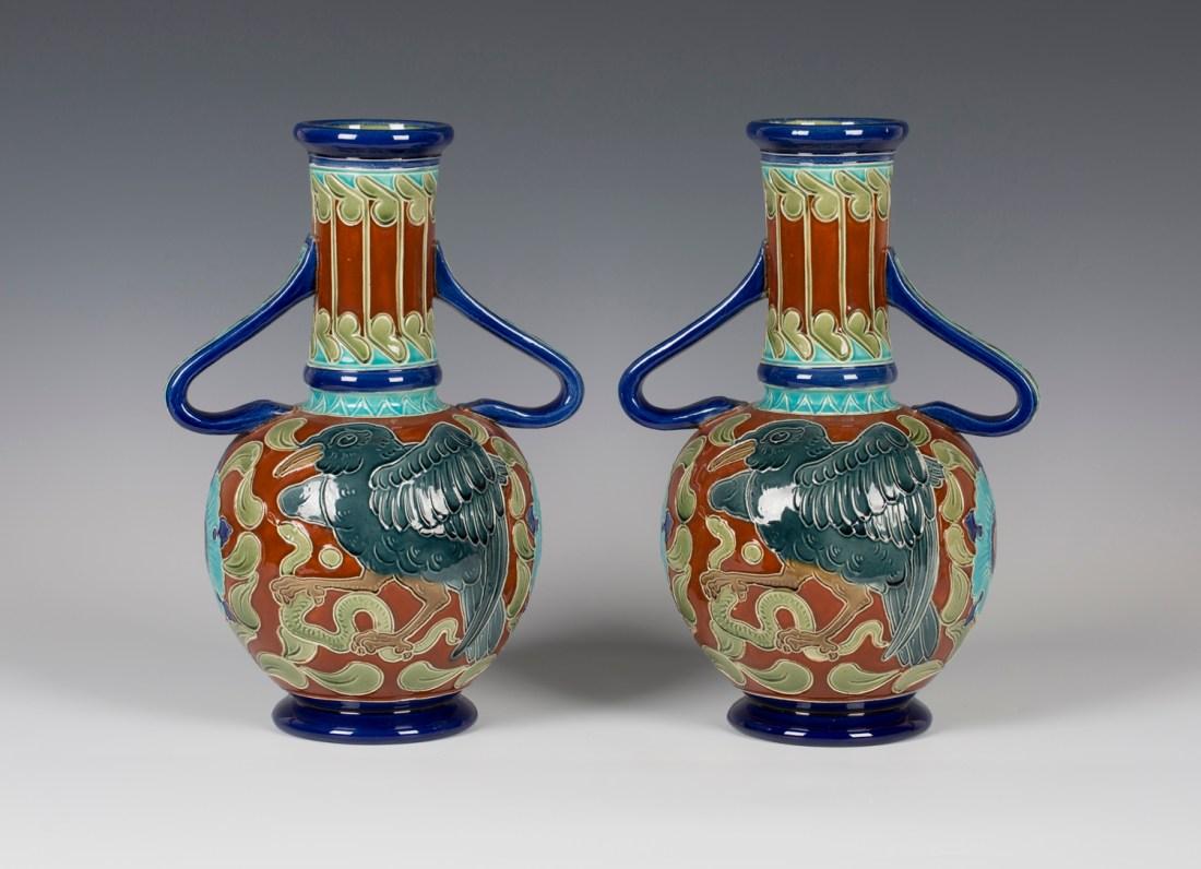 Vases. 1882-1904.