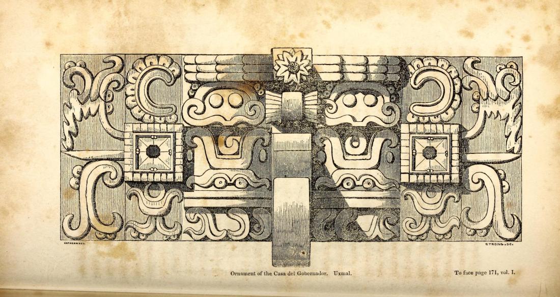 """""""Ornaments of the Casa del Gobernador, Uxmal."""" Page 170."""