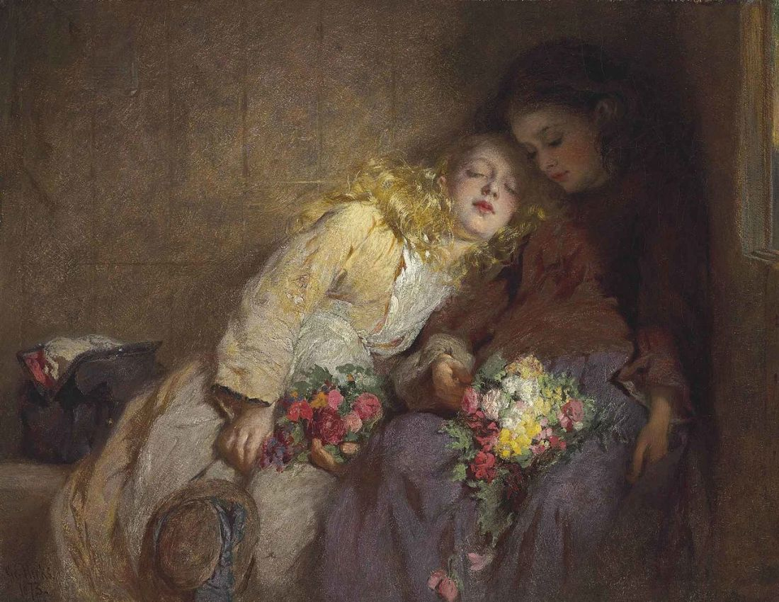 George_Elgar_Hicks_-_The_Return_Home
