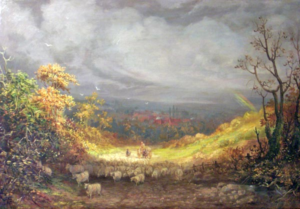 linnell_Landscape-with-Sheep