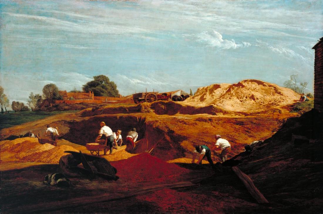 Kensington Gravel Pits 1811-2 by John Linnell 1792-1882