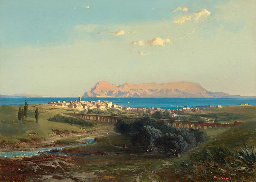 views-of-algeciras-on-the-rock-of-gibraltar-fritz-bamberger