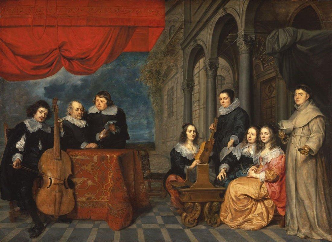 Jacques van Eyck, Mayor of Antwerp and his Family (?)