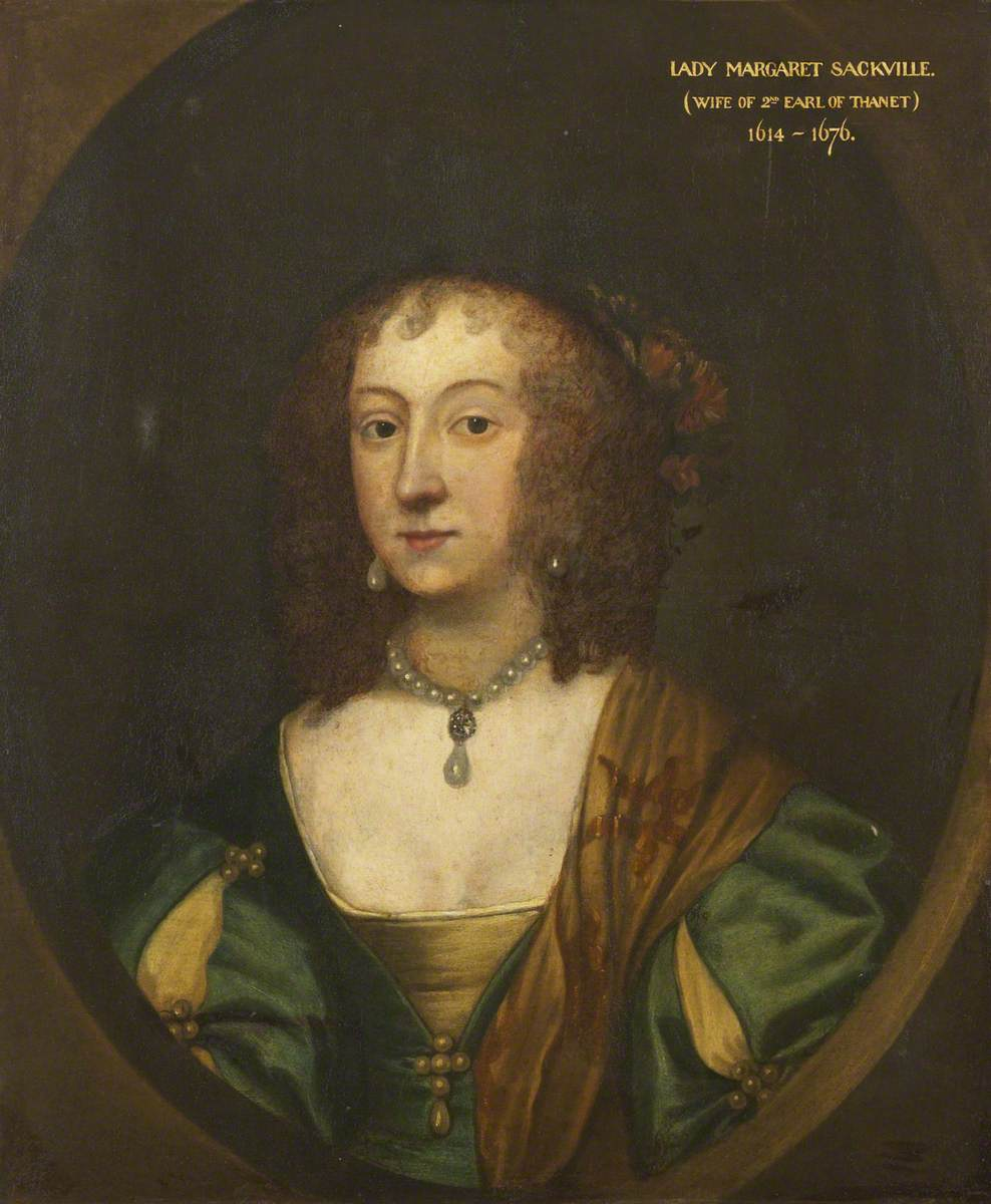 Lely, Peter, 1618-1680; Lady Margaret Sackville (1614-1676), Countess of Thanet
