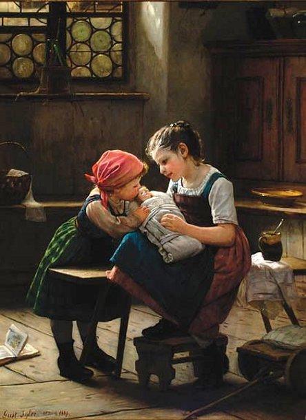 Gustav_Igler_-_Mütterchen_1872