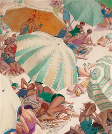 rutherford-boyd-beach-umbrellas-and-bathers