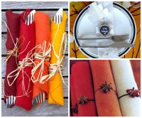 20 Stylish DIY Thanksgiving Napkin Rings for a Gorgeous
