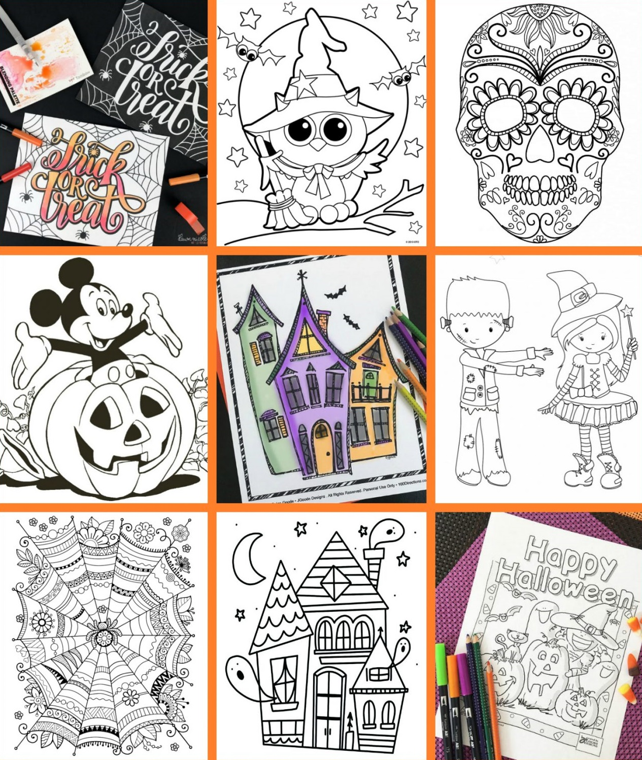 61 Spooky Halloween Free Printables That Will Put You In