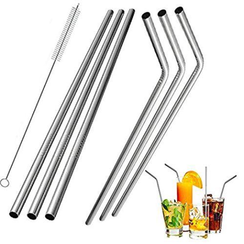 stainless straws