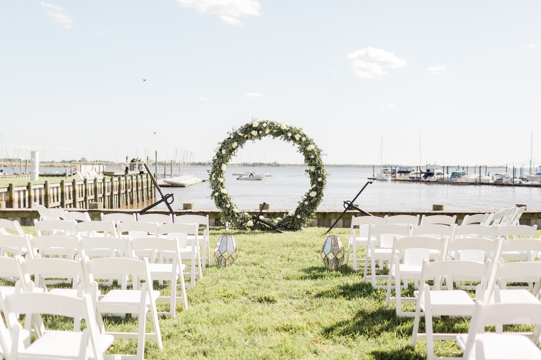 Corinthian Yacht Club Of Philadelphia Wedding Sarah