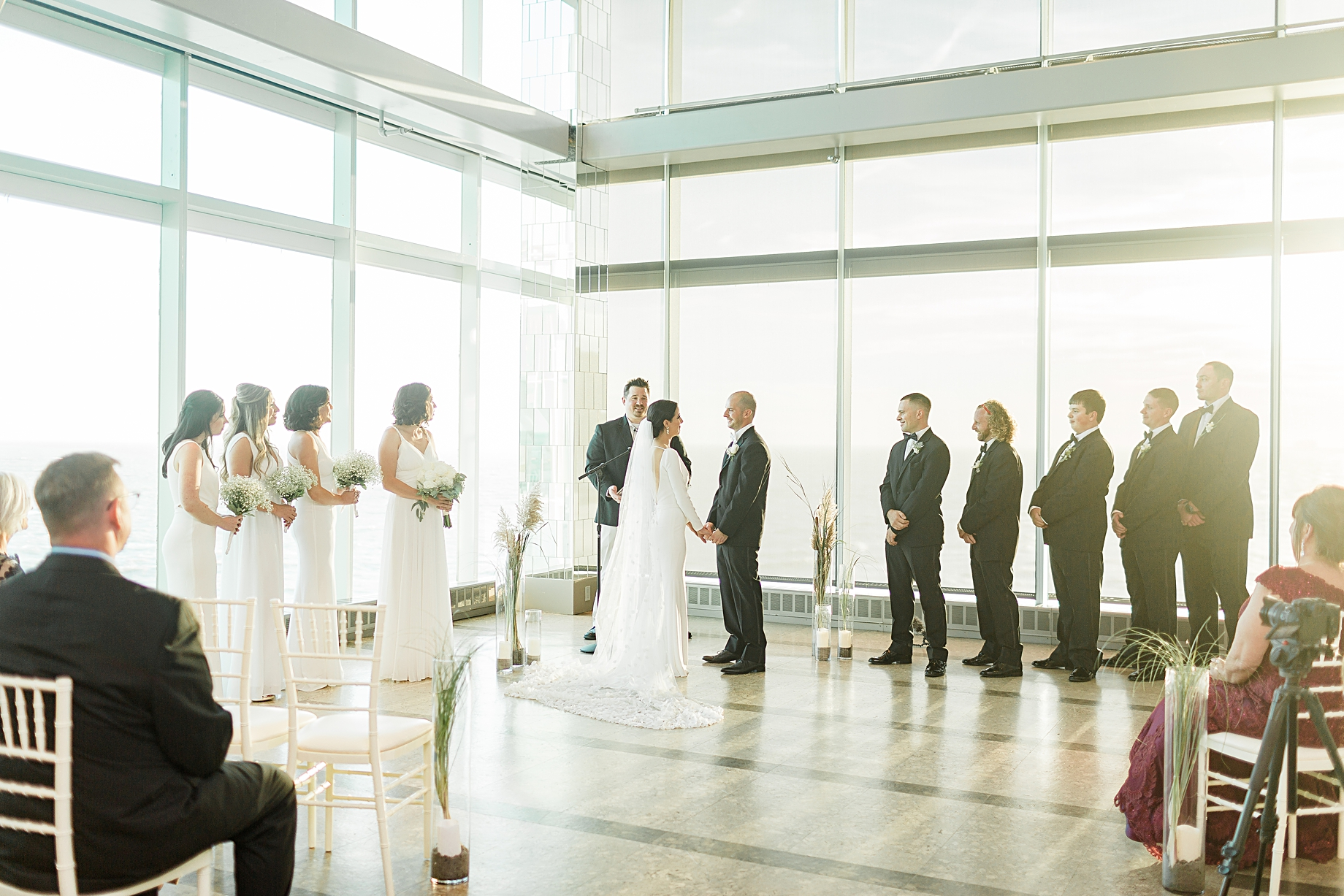 One Atlantic Wedding ceremony