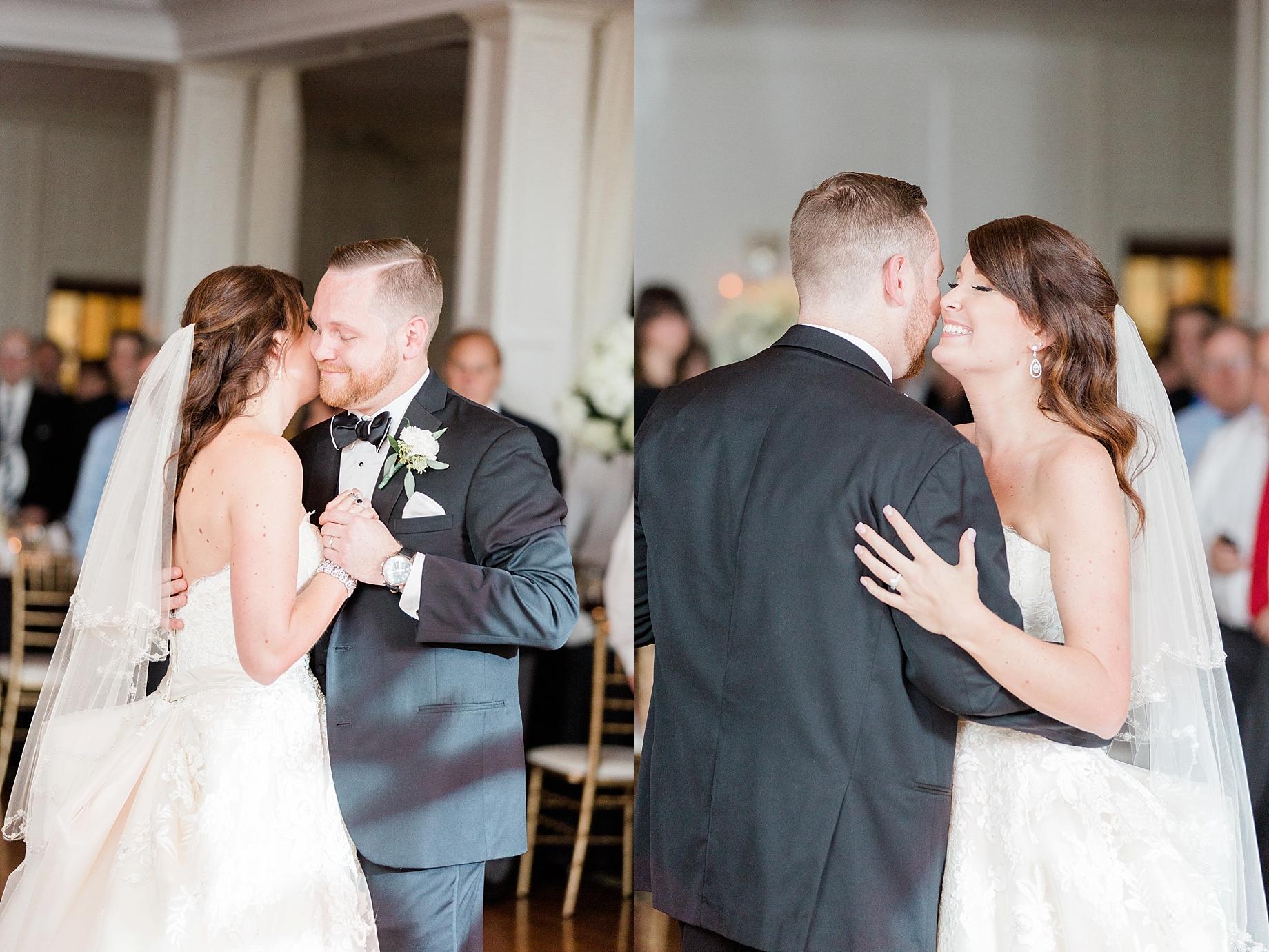 bride and groom first dance   William Penn Inn Wedding