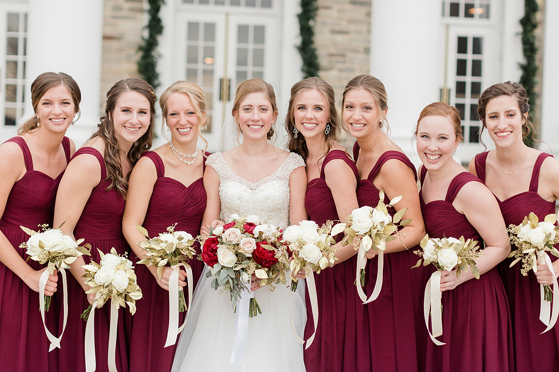 Sarah canning photography philadelphia wedding photographer finally the ceremony arrived the church was just fabulous seeing a couple come together in marriage is such a magical moment ombrellifo Images