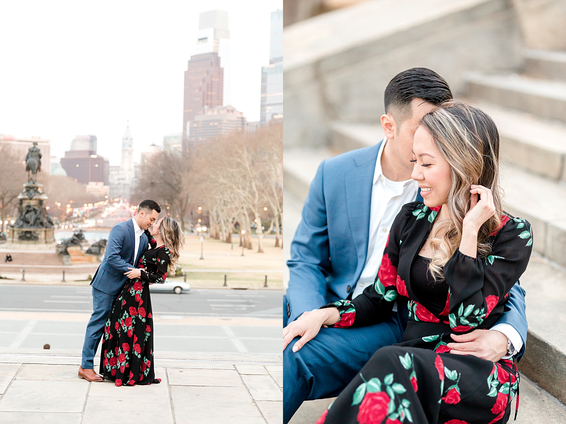 Center City Philadelphia Engagement Session