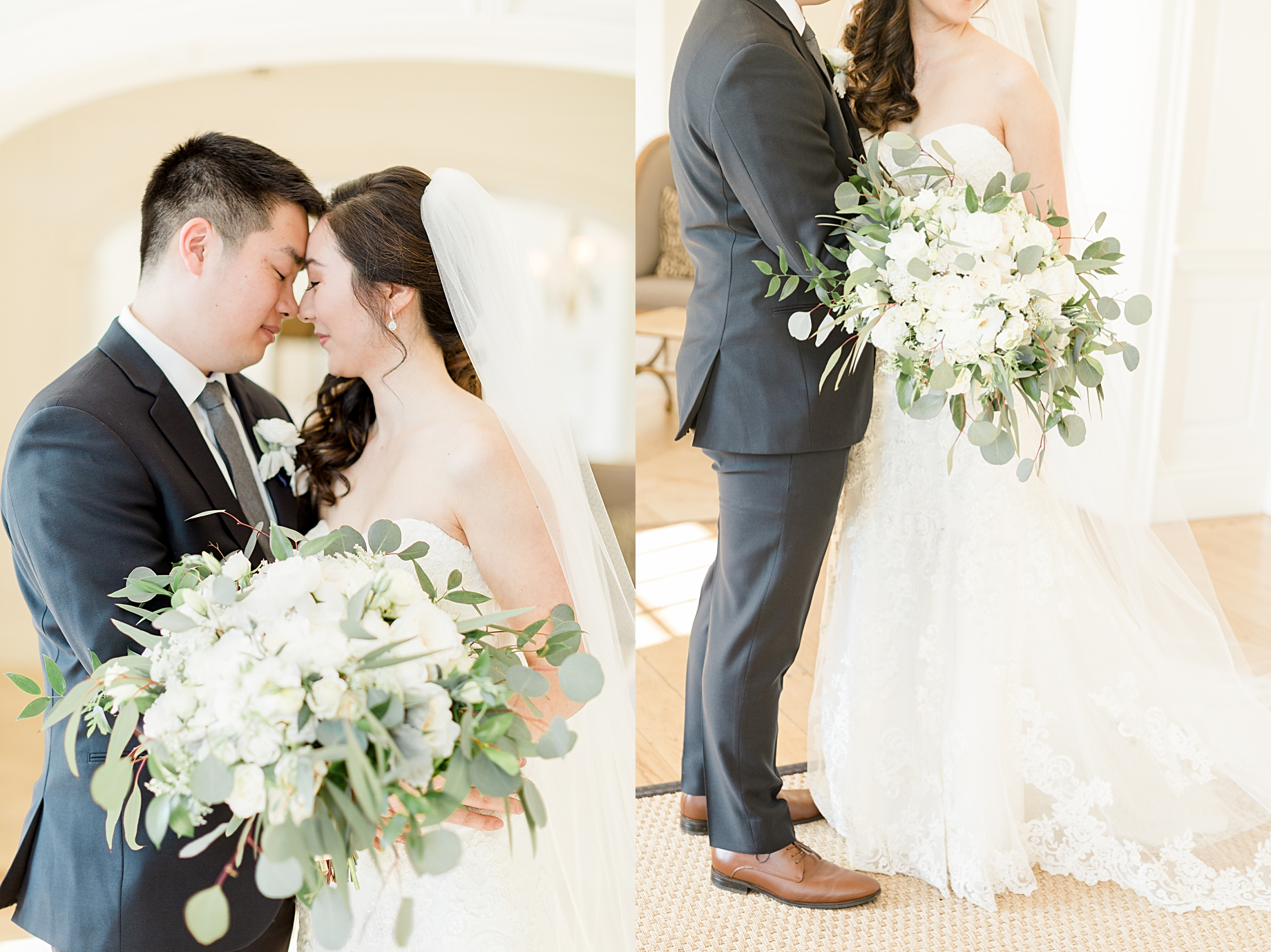 Elegant Winter Wedding at French Creek Golf Club
