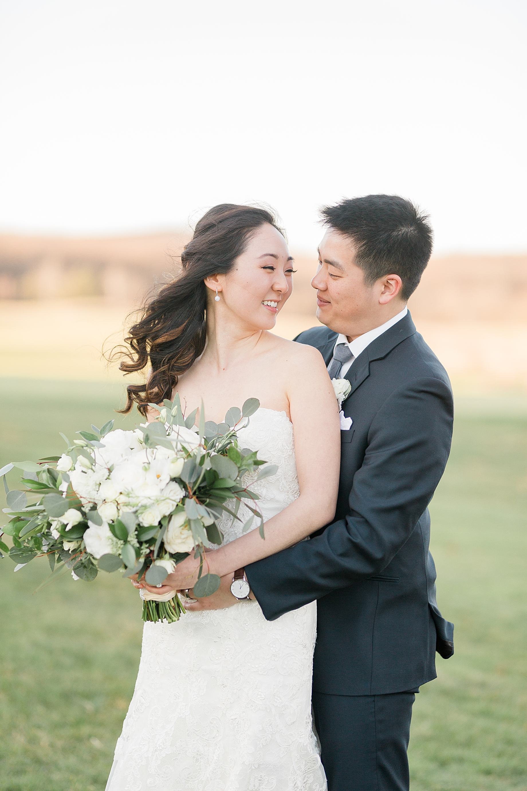 Elegant Winter Wedding at French Creek Golf Club Portraits
