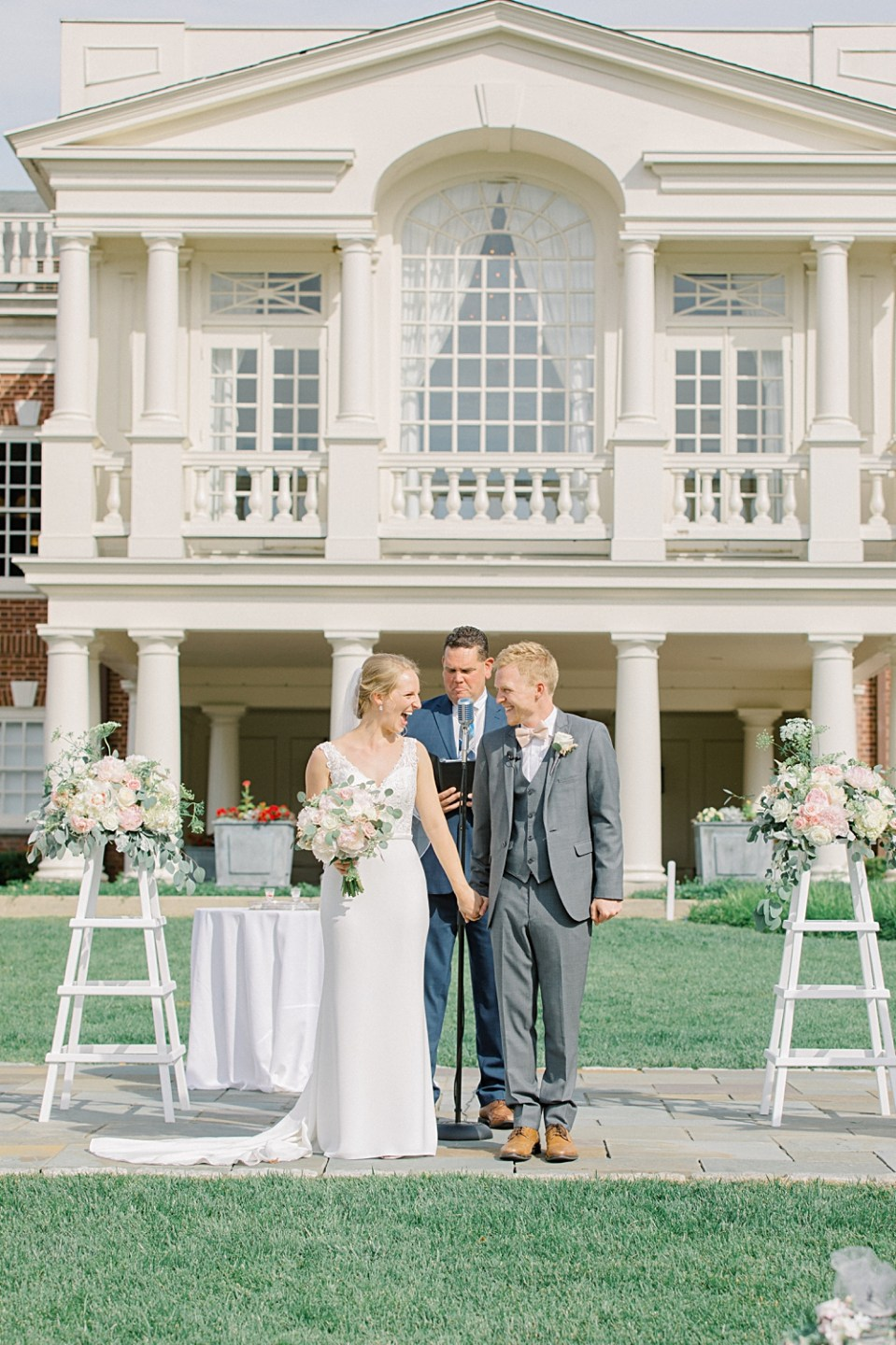 Philadelphia Cricket Club Wedding Ceremony