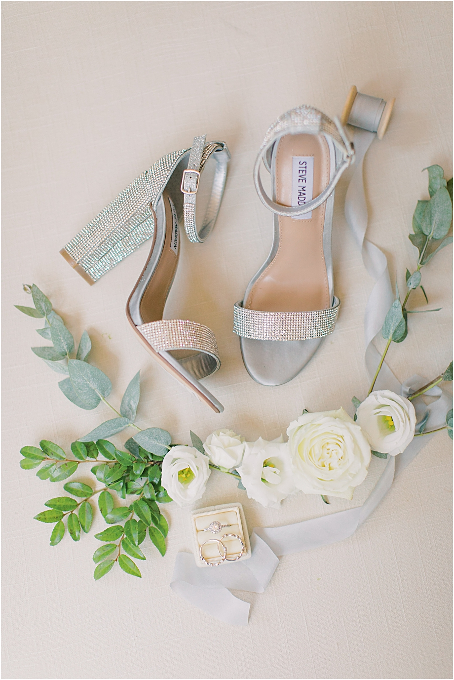 bridal wedding shoes | Hotel Du Village Wedding